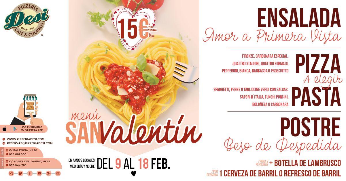 San Valentin Restaurante Granada